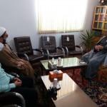 دیدار مسئول سیاسی عقیدتی نیروی انتظامی شهرستان سرخه با امام جمعه محترم