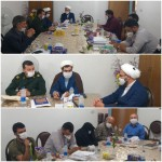 دیدار فعالان شورای هماهنگی تبلیغات اسلامی شهرستان سرخه با امام جمعه محترم