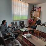 دیدار ریاست اداره صمت شهرستان سرخه با دکتر فاطمی بصیر امام جمعه محترم