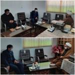 دیدار مدیر کل دیوان محاسبات استان سمنان با امام جمعه محترم دکتر فاطمی بصیر