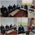 دیدار رئیس اداره تبلیغات اسلامی شهرستان سرخه با دکتر فاطمی بصیر