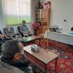 دیدار روسای هیئات مذهبی افغانستانی های مقیم شهرستان سرخه با امام جمعه محترم