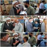تجلیل از سلسله جلیله سادات حاضر در نماز جمعه
