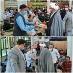 تجلیل از مسن ترین نماز گزاران جمعه شهرستان سرخه به مناسبت هفته بزرگداشت نماز جمعه