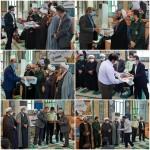 تجلیل از فعالین در طرح مواسات و کمک های مومنانه ، طرح سلامت ، فعالیت های فرهنگی و مذهبی و اجتماعی شهرستان سرخه