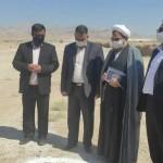 کلنگ زنی شهرک صنعتی تخصصی گچ در شهر سرخه