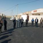 مراسم افتتاح پروژه ۱۰۶ واحدی یاس در شهر سرخه