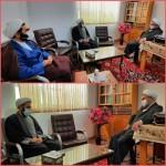 دیدار مدیر کل اداره تبلیغات اسلامی استان سمنان با امام جمعه محترم