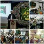 همایش منادیان حسینی در شهرستان سرخه