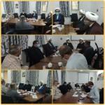 جلسه شورای هیئات مذهبی شهرستان سرخه