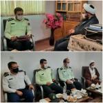 دیدار فرماندهی محترم نیروی انتظامی شهرستان سرخه با امام جمعه محترم