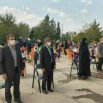 مراسم جشن شکوفه ها و آغاز سال تحصیلی جدید در شهر سرخه