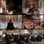 برگزاری کاروان عزای حسینی در شهرستان سرخه