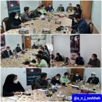نشست دادستان محترم استان سمنان به اتفاق هیئت همراه با امام جمعه محترم دکتر فاطمی بصیر