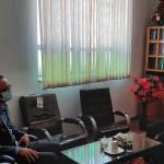 دیدار رئیس کمیته امداد حضرت امام خمینی (ره) شهرستان سرخه با دکتر فاطمی بصیر