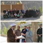 تجلیل از دکتر فاطمی بصیر امام جمعه محترم شهرستان سرخه توسط هیئت امنا مسجد جمعه